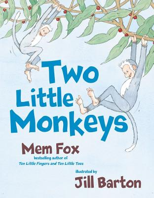 Two Little Monkeys By Fox, Mem/ Barton, Jill (ILT)